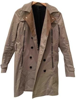 The Kooples Beige Trench Coat for Women