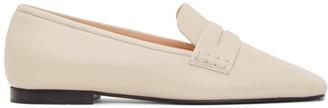KHAITE Off-White Carlisle Loafers