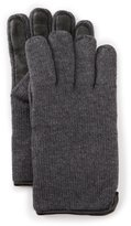 UGG Calvert Tech Gloves with Faux-Fur Lining