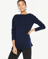 Ann Taylor Cashmere Boatneck Tunic