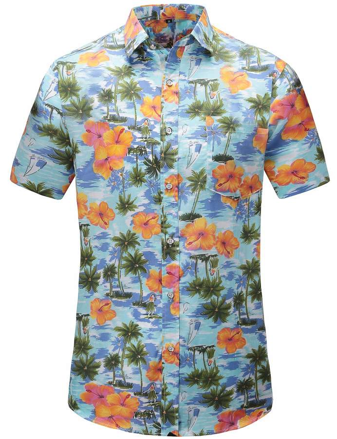 0f574f3c Flower Print Short Sleeve Shirt - ShopStyle Canada