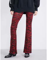 Maison Margiela Leopard-print jersey leggings