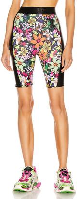 Dundas for FWRD Biker Shorts in Floral Print | FWRD