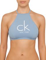 Calvin Klein High Neck Crop Top