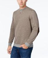 Tasso Elba Men's Colorblocked Stripe Sweatshirt, Only at Macy's