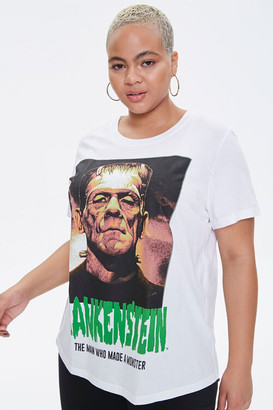 Forever 21 Plus Size Frankenstein Graphic Tee