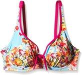 Pour Moi? Pour Moi 24002 Seville Underwired Non Padded Plunge Bikini Top