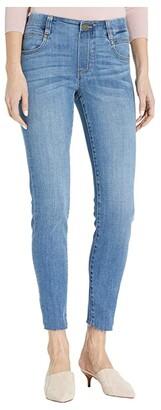Liverpool Gia Glider Crop Cut Hem in Cape Town (Cape Town) Women's Jeans