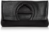Etienne Aigner Bombe A Leather Clutch