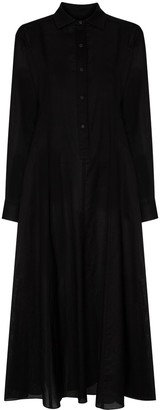 Three Graces Thalon midi shirt dress