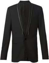 Lanvin chain trim jacket - men - Mohair/Wool - 50