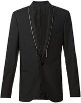 Lanvin chain trim jacket - men - Wool/Mohair - 50