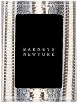 "Barneys New York Studio Snakeskin 4"" x 6"" Picture Frame"