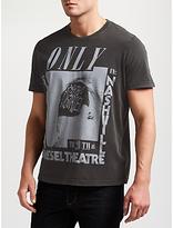 Diesel T-joe Only In Nashville Qe T-shirt, Black