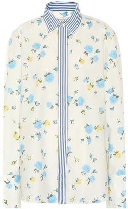 Golden Goose Jessie floral cotton shirt