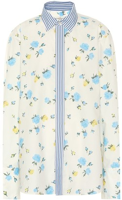 Golden Goose Jessie floral cotton shirt