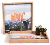 DENY Designs 'Nyc Skyline' Decorative Serving Tray
