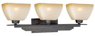 Millwood Pines Aanya 3-Light Dimmable Architectural Bronze Vanity Light