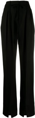 Ann Demeulemeester High-Waisted Wide-Leg Trousers
