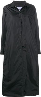 Aspesi Buttoned Long Raincoat