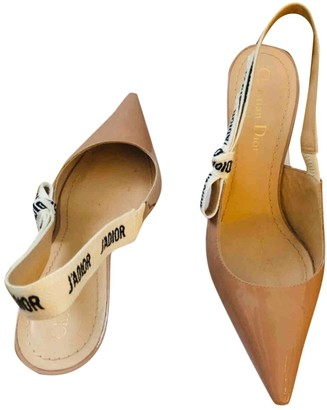 Christian Dior J'adior Pink Patent leather Heels