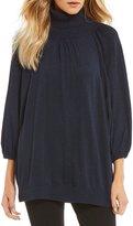 M.S.S.P. Mock Neck Oversize Sweater