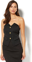 New York & Co. 7th Avenue Design Studio - Button-Front Corset Top