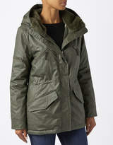 Monsoon Petunia Wax Parka