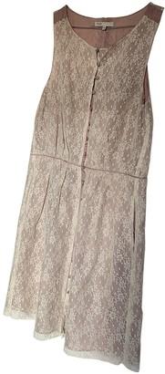 Maje White Lace Dresses