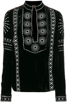 Dodo Bar Or Embroidered Blouse