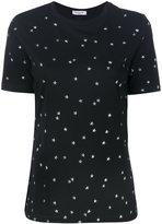 Thierry Mugler short sleeved star T-shirt