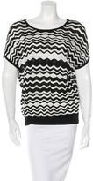 M Missoni Knit Striped Sleeveless Top