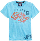 Superdry Super Dry Men's Stacker Modern Graphic-Print T-Shirt