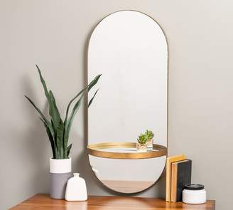 Pottery Barn Pirin Oval Mirror