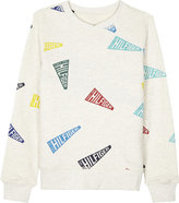 Tommy Hilfiger Flap Print Cotton Sweatshirt 4-16 Years