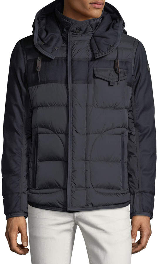 Moncler Men's Ryan Hooded Puffer Jacket