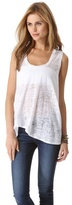 Enza Costa Burnout Tank Top