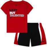 Nike Baby Boys' 2-Piece Talented T-Shirt & Shorts Set