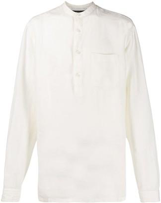 Ermenegildo Zegna Button Placket Shirt