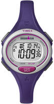 Timex Womens Ironman 30 Lap Purple Silicone Strap Digital Watch