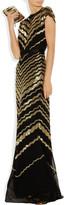 Jason Wu Beaded silk-chiffon gown