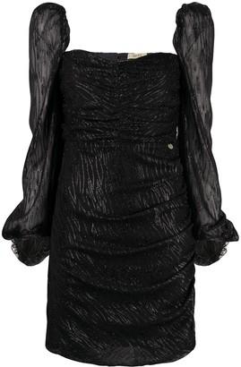 Liu Jo Fil Coupe Sweetheart Dress