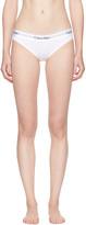 Calvin Klein Underwear White Modern Cotton Bikini Briefs