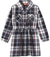 Joe Fresh Toddler Girls' Twill Shirt Dress, Red (Size 5)