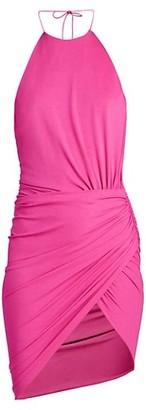 Alexandre Vauthier Stretch Jersey Halter Dress