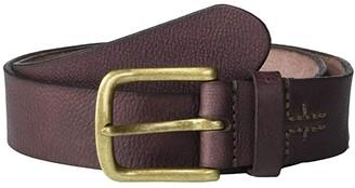 Frye 38 mm Oil Pull Up Leather (Dark Brown) Men's Belts