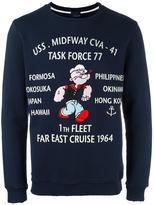 (+) People +People Popeye print sweatshirt
