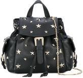 RED Valentino star studded backpack