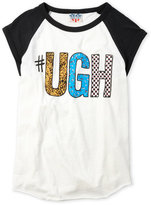 Junk Food Clothing Girls 7-16) Ugh Raglan Tee