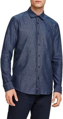 Scotch & Soda Slim Fit Chambray Button Up Shirt